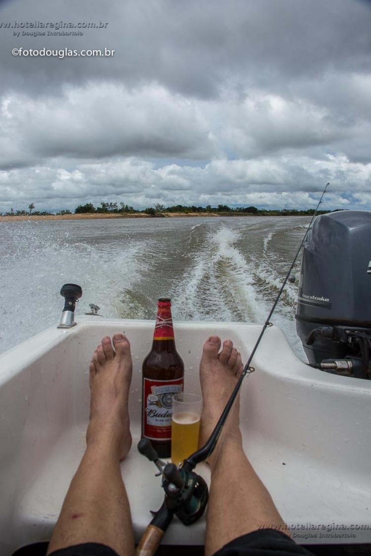 Stress e Pescaria atividade relaxante e empolgante