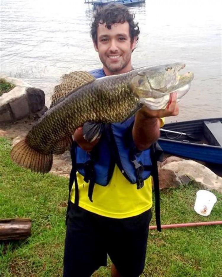 Novo recorde da traíra é conquistado nos rios do  Paraná