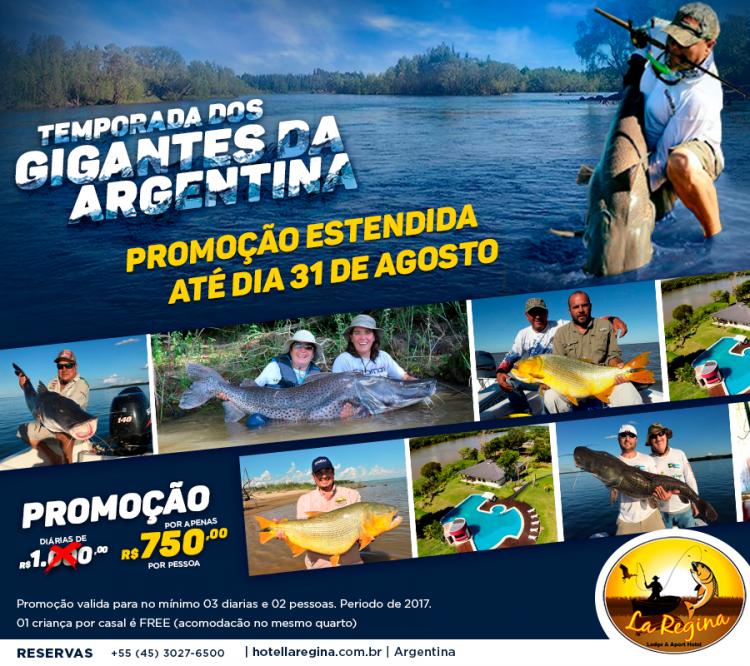 Promoção estendida até 31 de agosto da Temporada dos Gigantes da Argentina