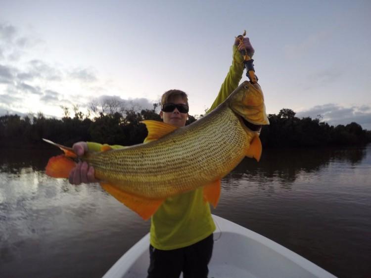 Pescaria na Argentina, em Corrientes no norte argentino