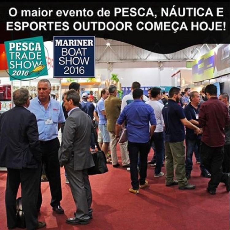 Pesca Trade Show : a feira voltada para o mercado profissional da pesca esportiva.