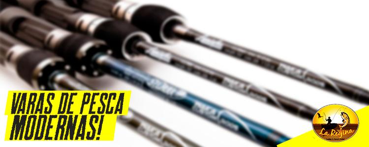 Conheça quais são as modernas varas de pescar e qual o melhor modelo a ser utilizado